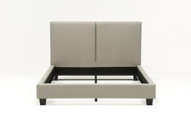 Rylee California King Upholstered Panel Bed - 360