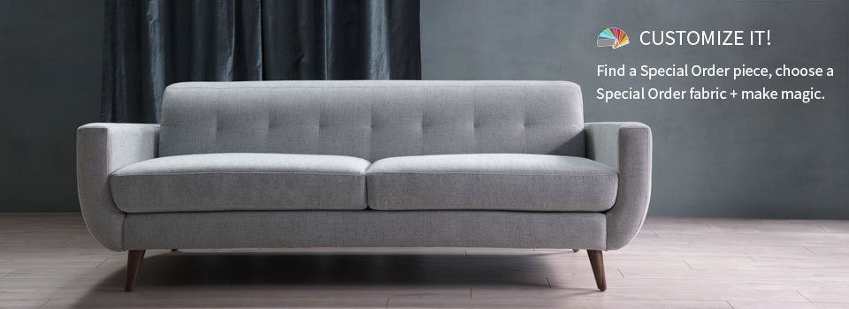 Order the Avalon sectional in a variety of colors