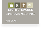 furniture financing | living spaces furniture credit card