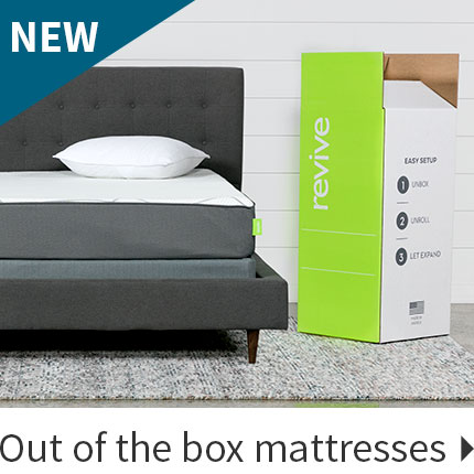 New out of the box mattresses.